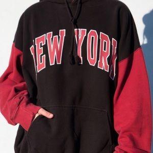 New York Colorblock Christy hoodie
